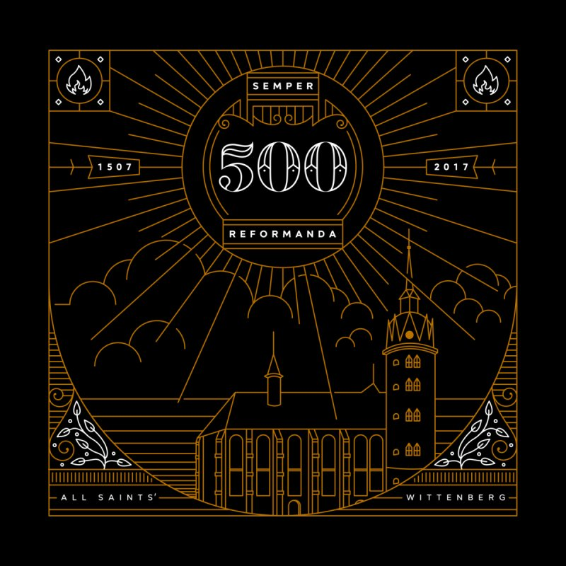 500 Semper Reformanda by Theologia Gear