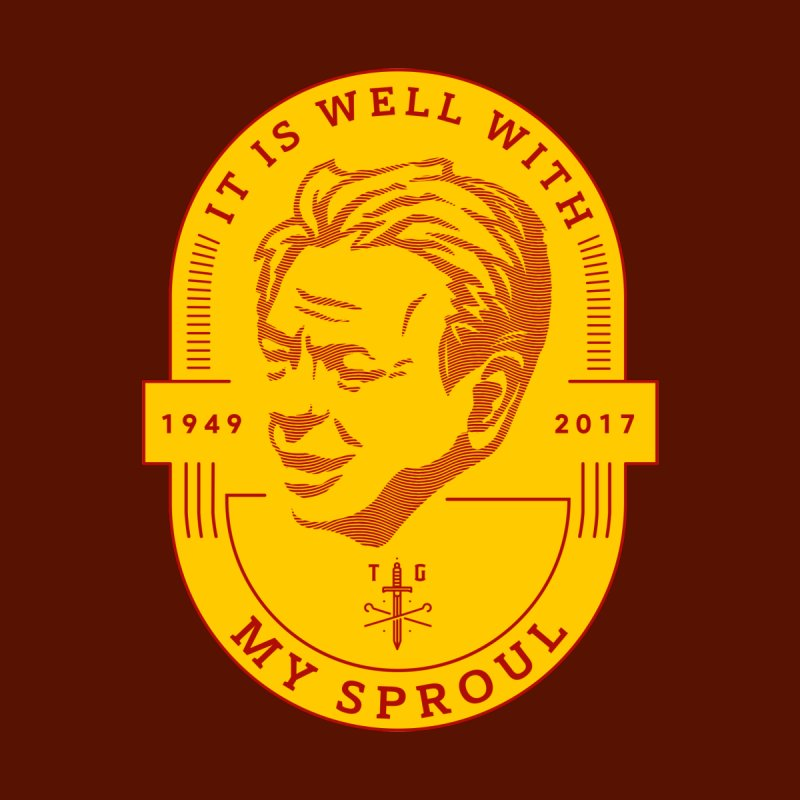 It is Well With My Sproul (tribute to Dr. R.C Sproul) - Red & Yellow by Theologia Gear
