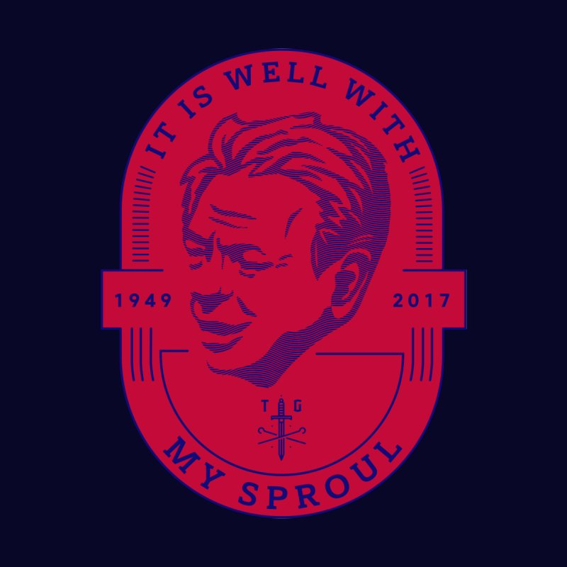 It is Well With My Sproul (tribute to Dr. R.C Sproul) - Red & Blue by Theologia Gear