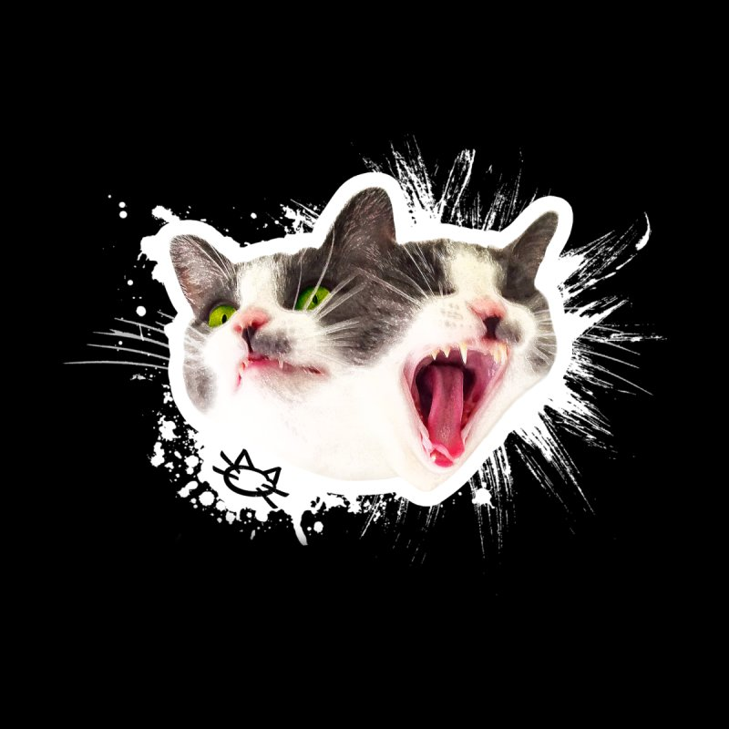 Cat-Rage Graphic Men's T-Shirt by The One Designer MERCH