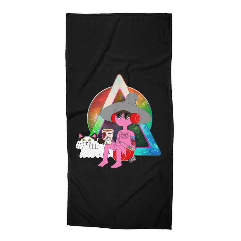 CLANCY: The One Designer Avatar Accessories Beach Towel by The One Designer MERCH