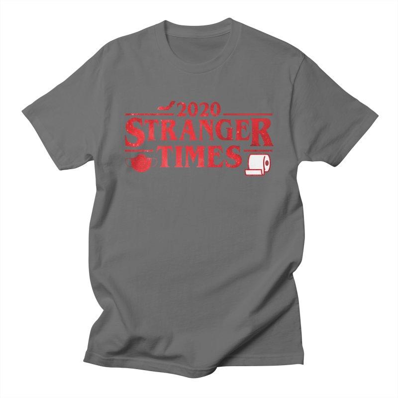 Stranger Times 2020 Men's T-Shirt by The One Designer MERCH