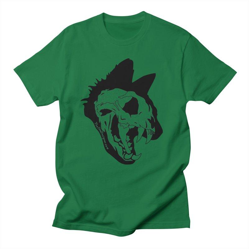 Cat Skull Men's T-Shirt by The One Designer MERCH