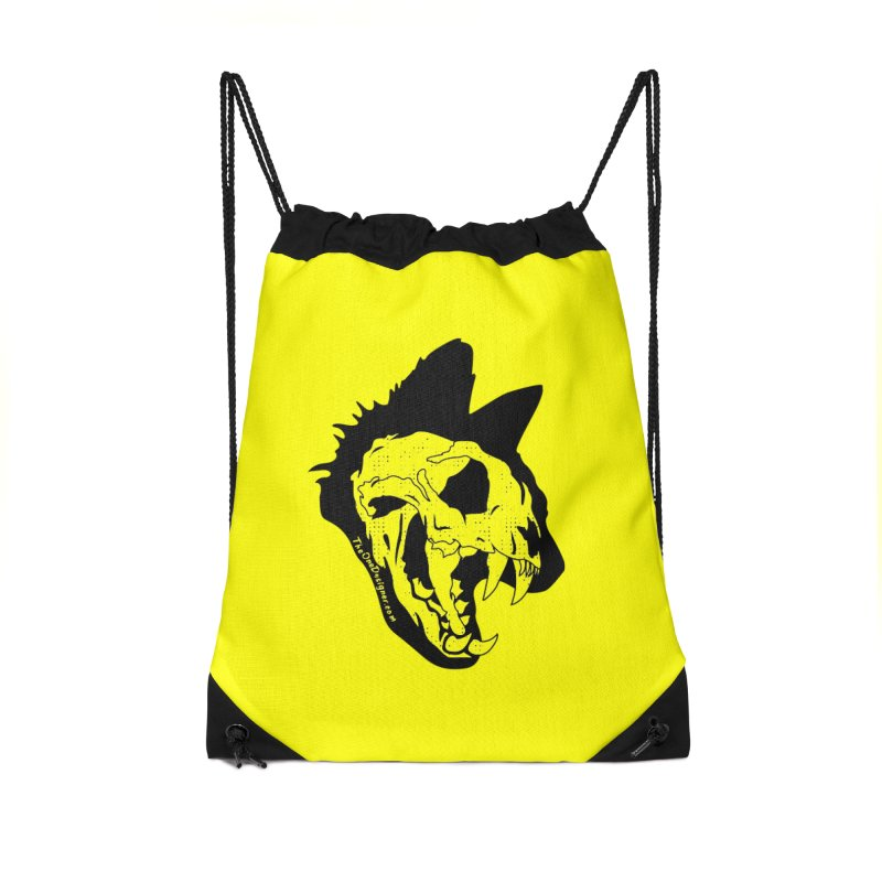 Cat Skull Accessories Bag by The One Designer MERCH