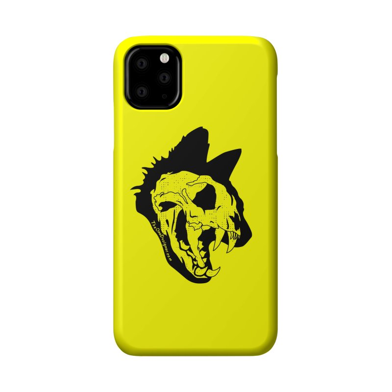 Cat Skull Accessories Phone Case by The One Designer MERCH