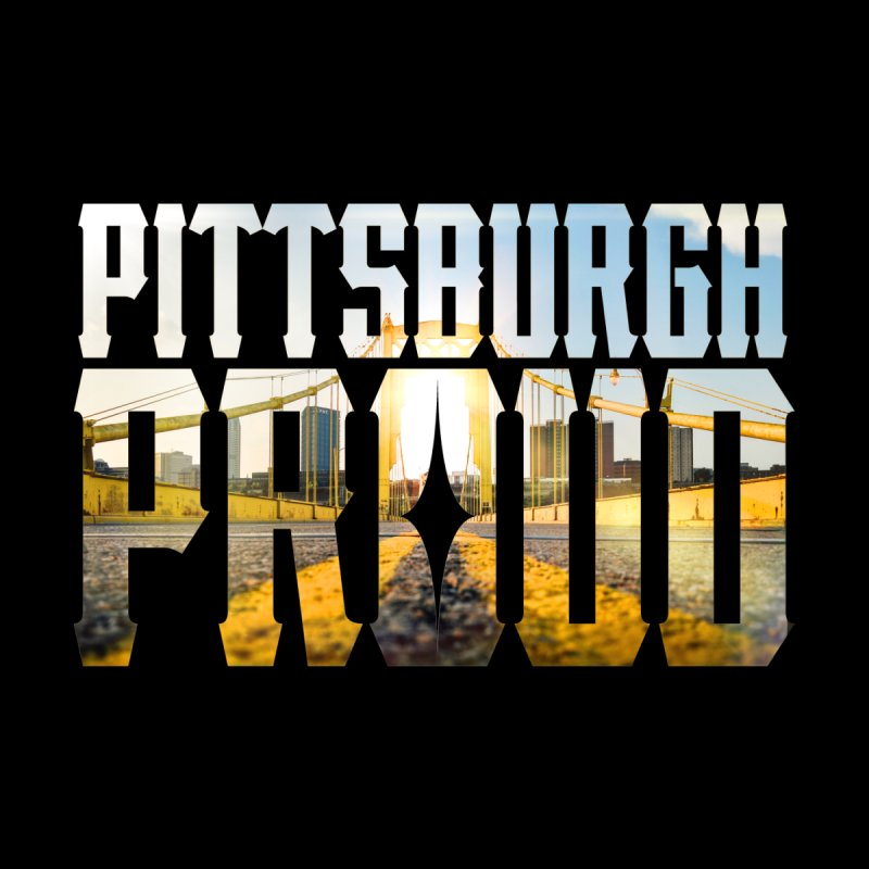 Pittsburgh Proud Kids Baby Zip-Up Hoody by The One Designer MERCH