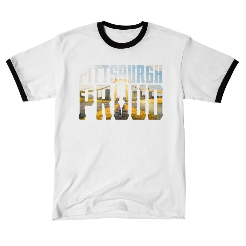 Pittsburgh Proud Men's T-Shirt by The One Designer MERCH