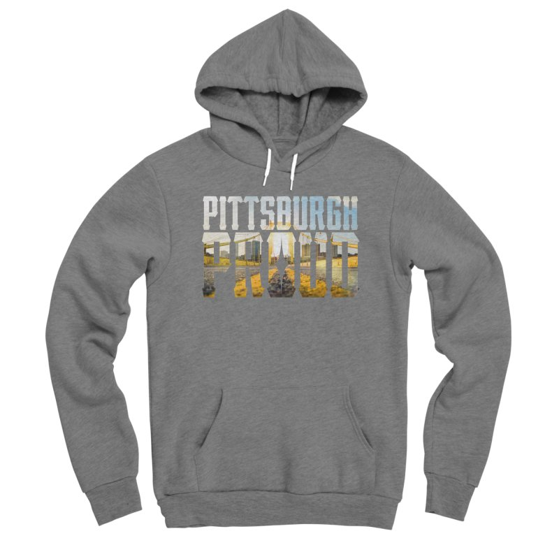 Pittsburgh Proud Men's Pullover Hoody by The One Designer MERCH