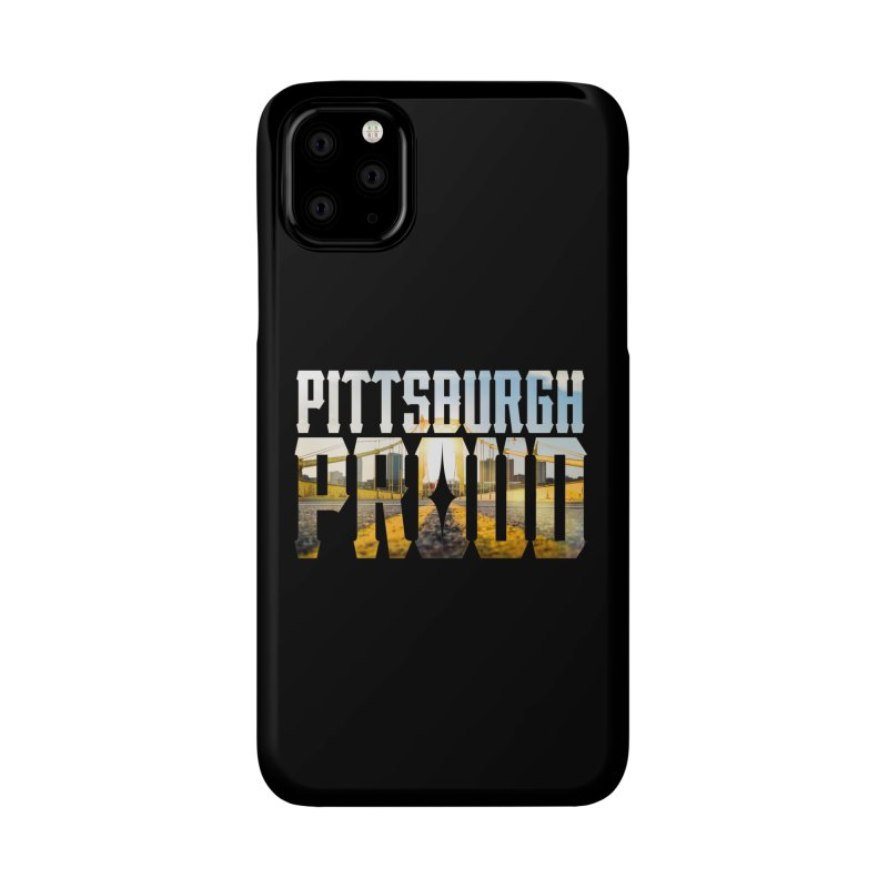 Pittsburgh Proud Accessories Phone Case by The One Designer MERCH