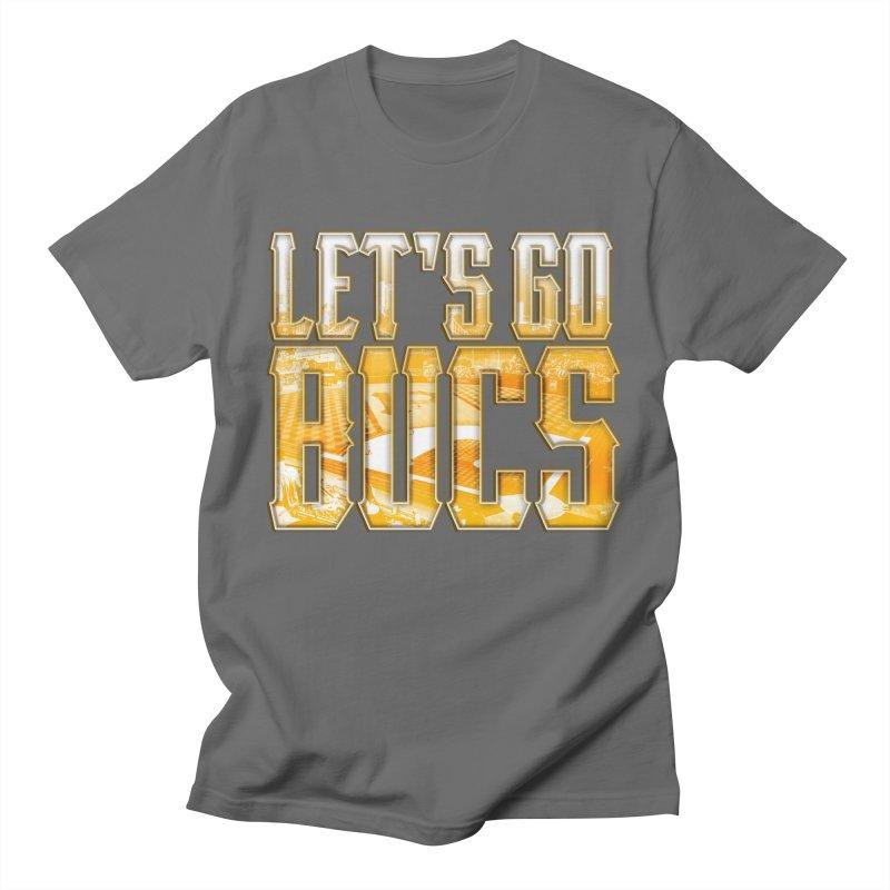 LET'S GO BUCS Men's T-Shirt by The One Designer MERCH