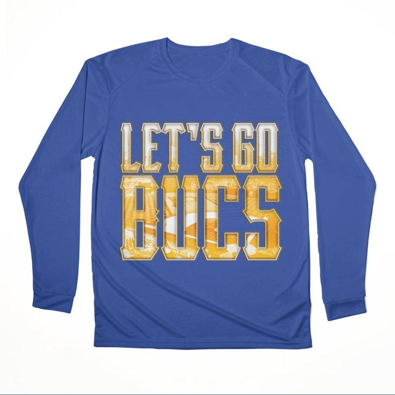 LET'S GO BUCS Men's Longsleeve T-Shirt by The One Designer MERCH