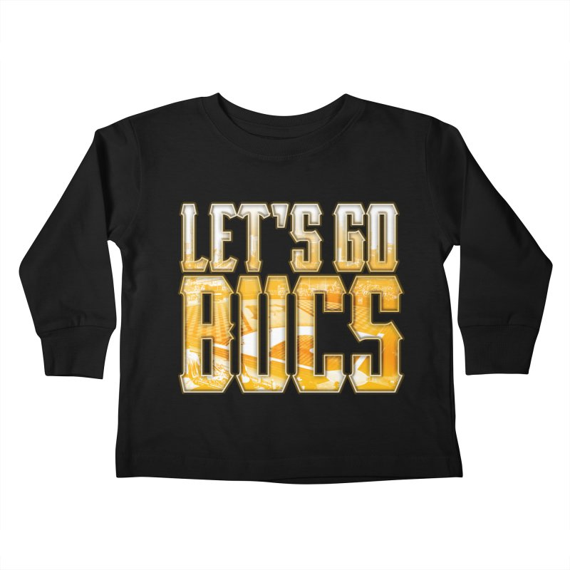 LET'S GO BUCS Kids Toddler Longsleeve T-Shirt by The One Designer MERCH