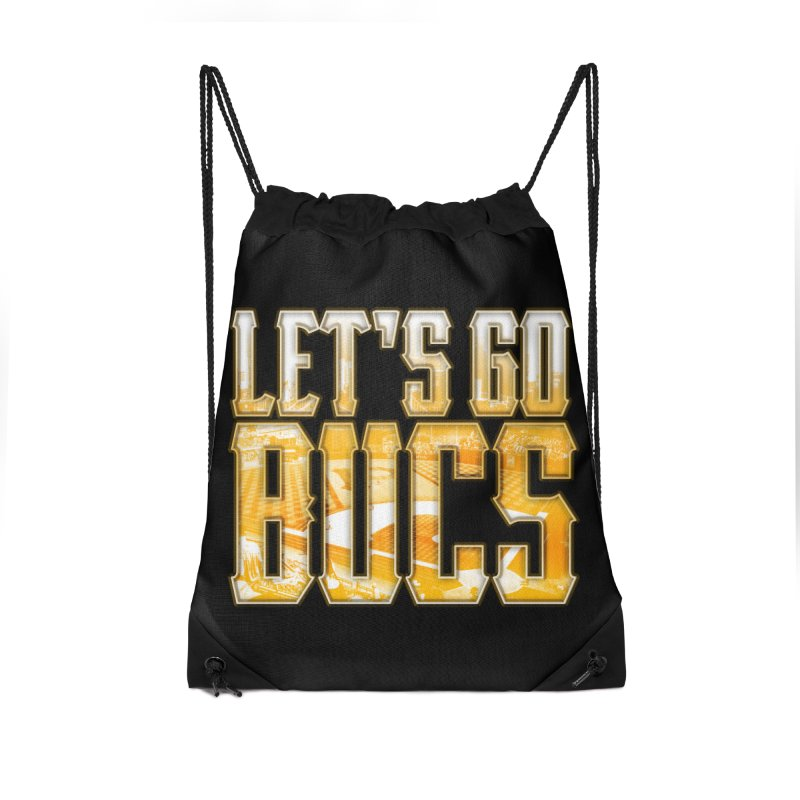 LET'S GO BUCS Accessories Bag by The One Designer MERCH