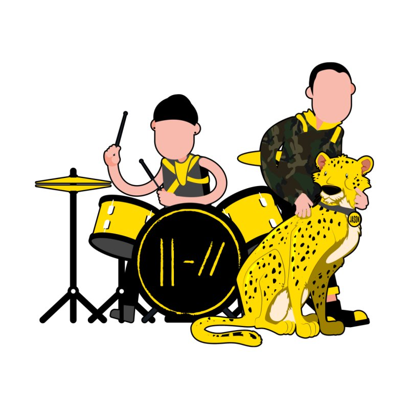 Pet Cheetah Men's T-Shirt by The One Designer MERCH