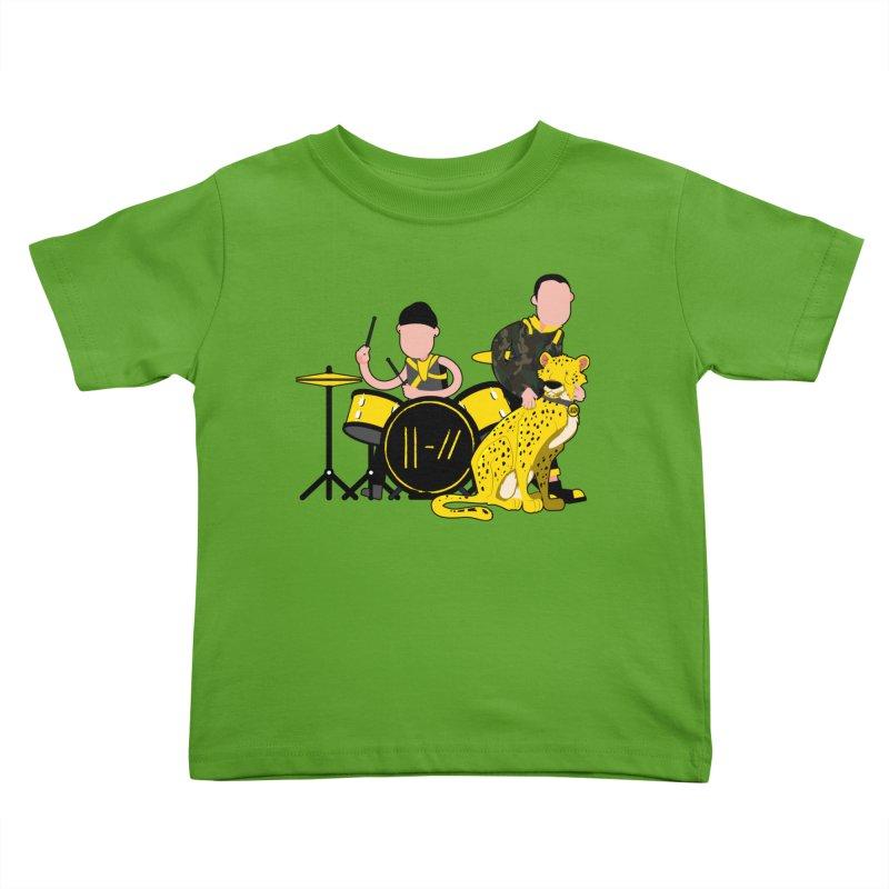 Pet Cheetah Kids Toddler T-Shirt by The One Designer MERCH