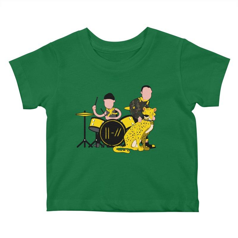 Pet Cheetah Kids Baby T-Shirt by The One Designer MERCH