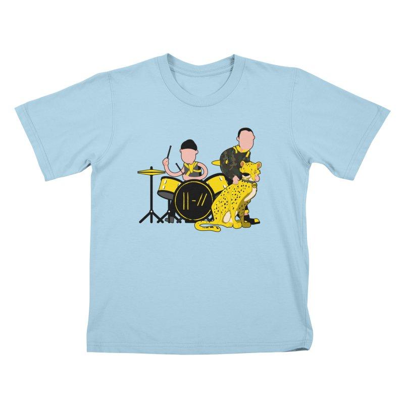Pet Cheetah Kids T-Shirt by The One Designer MERCH