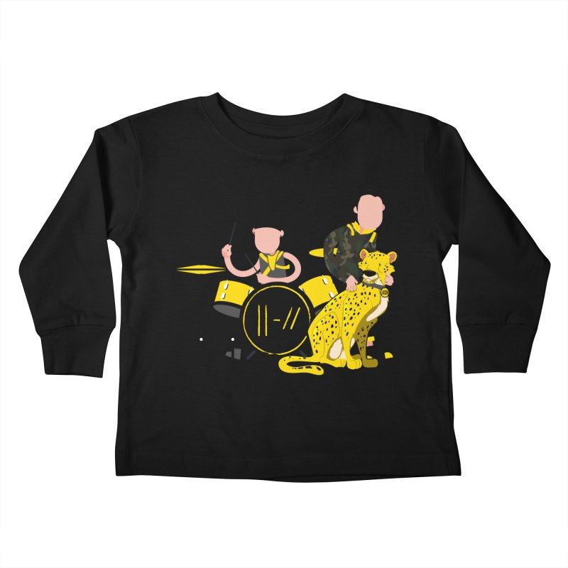Pet Cheetah Kids Toddler Longsleeve T-Shirt by The One Designer MERCH
