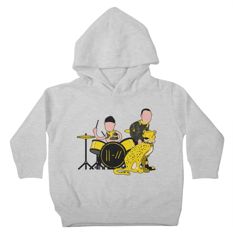 Pet Cheetah Kids Toddler Pullover Hoody by The One Designer MERCH