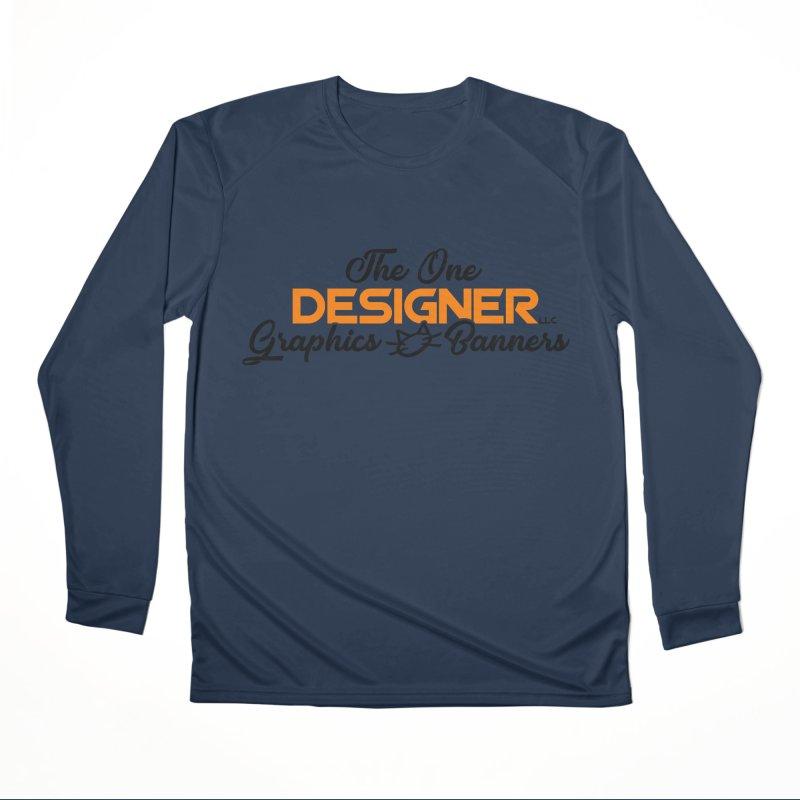 The One Designer Logo Men's Longsleeve T-Shirt by The One Designer MERCH