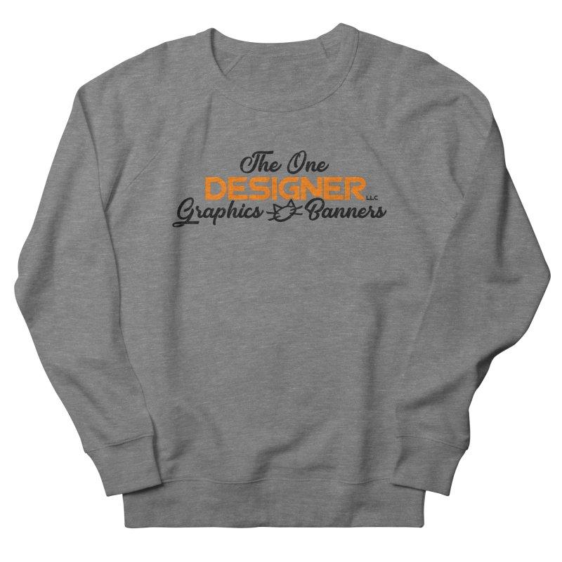 The One Designer Logo Men's Sweatshirt by The One Designer MERCH