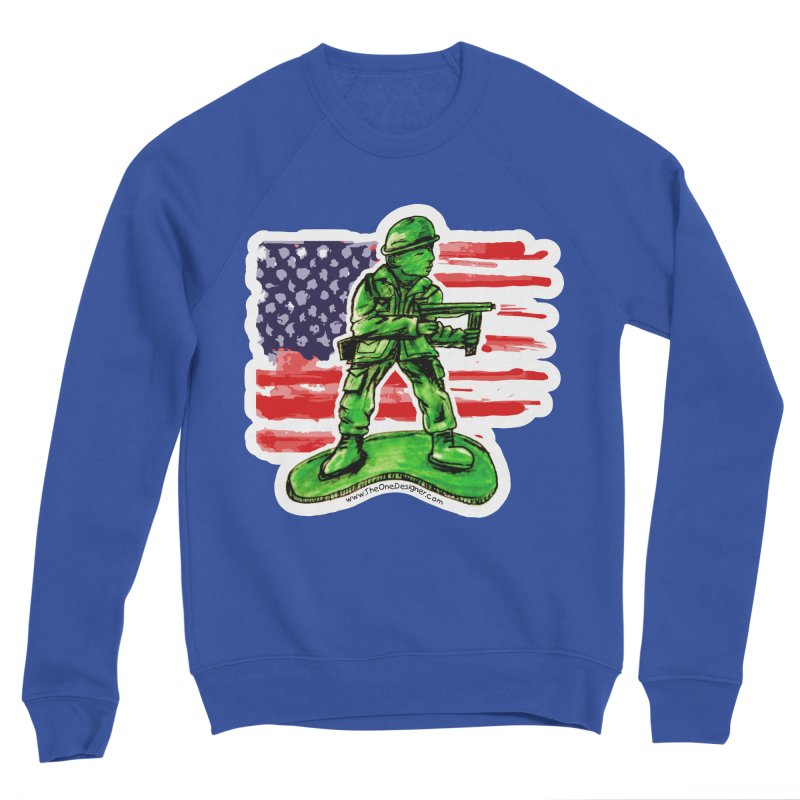 Toy Soldier Men's Sweatshirt by The One Designer MERCH