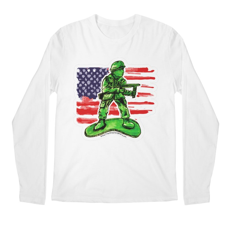 Toy Soldier Men's Longsleeve T-Shirt by The One Designer MERCH