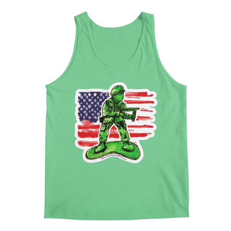Toy Soldier Men's Tank by The One Designer MERCH