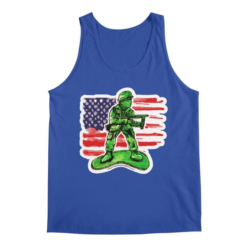 Toy Soldier Men's Tank by The One Designer MERCH