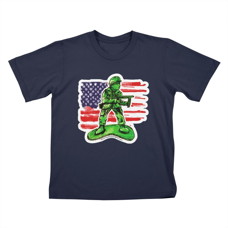 Toy Soldier Kids T-Shirt by The One Designer MERCH