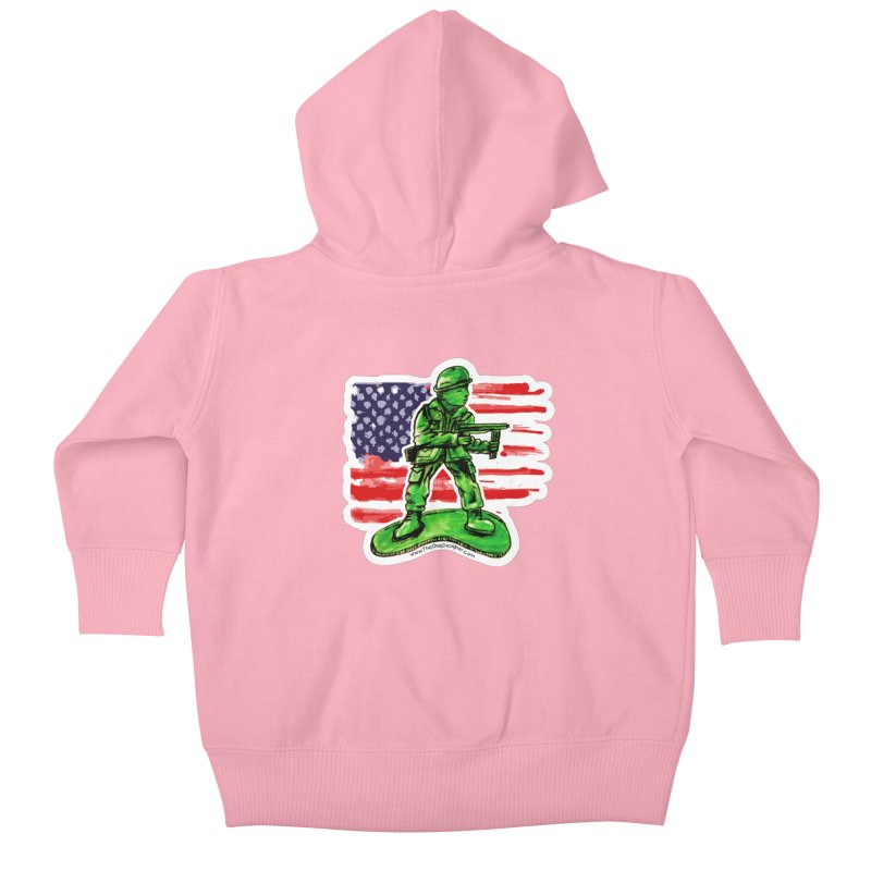 Toy Soldier Kids Baby Zip-Up Hoody by The One Designer MERCH