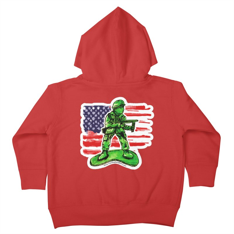 Toy Soldier Kids Toddler Zip-Up Hoody by The One Designer MERCH