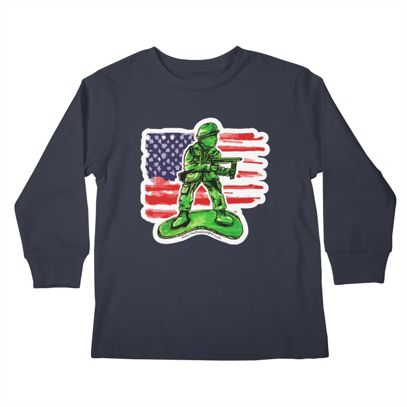 Toy Soldier Kids Longsleeve T-Shirt by The One Designer MERCH