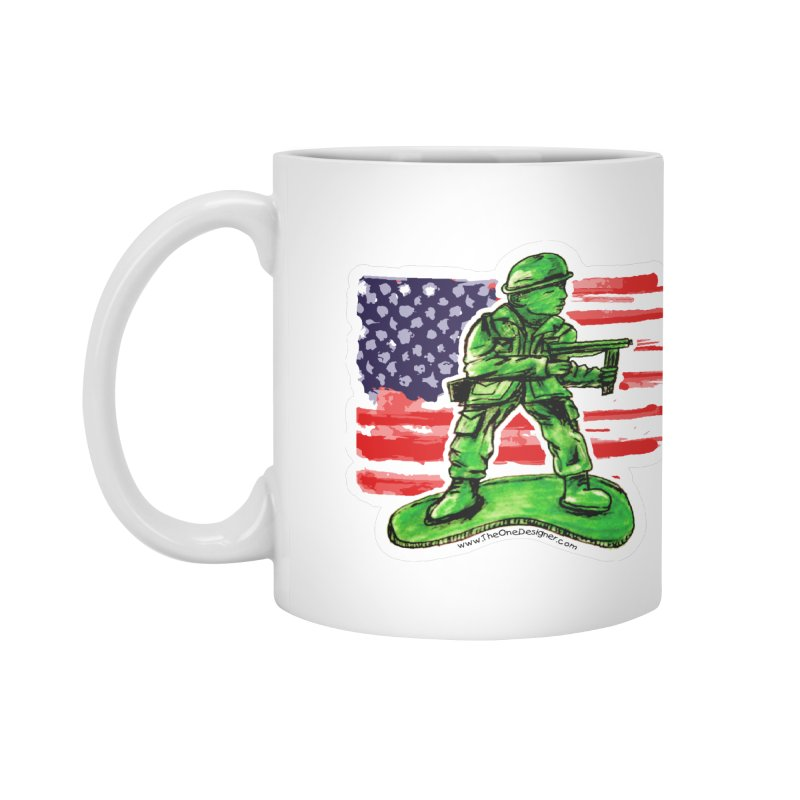 Toy Soldier Accessories Mug by The One Designer MERCH