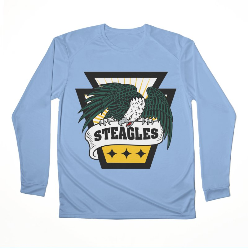 STEAGLES Men's Longsleeve T-Shirt by The One Designer MERCH