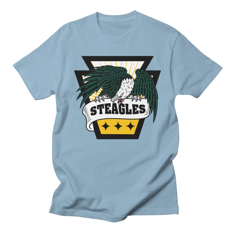 STEAGLES Men's T-Shirt by The One Designer MERCH