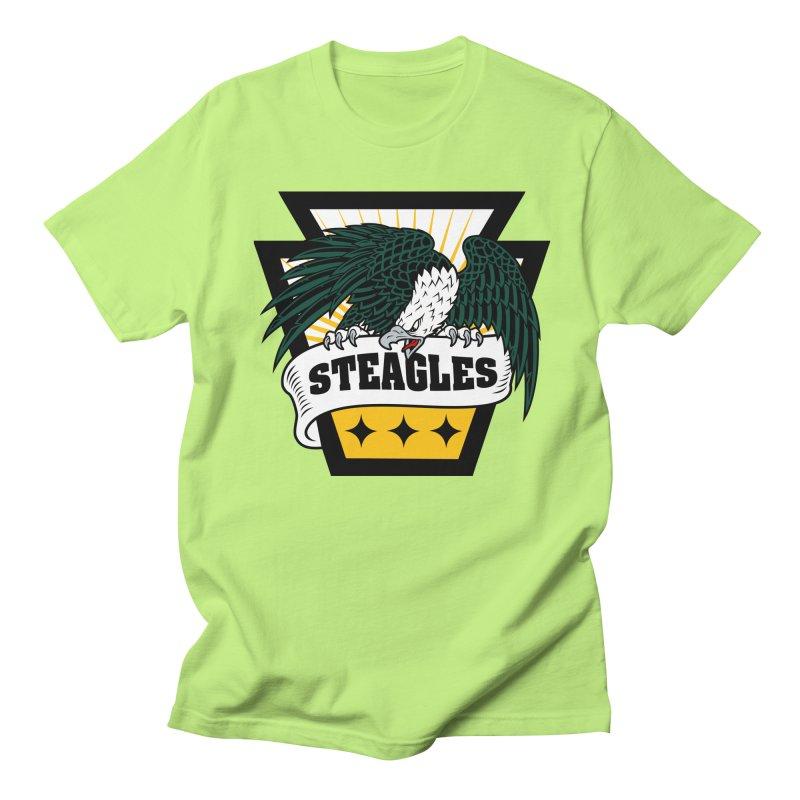 STEAGLES Men's T-Shirt by The One Designer MERCH