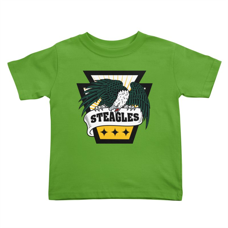 STEAGLES Kids Toddler T-Shirt by The One Designer MERCH