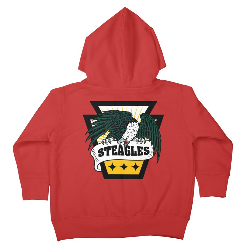 STEAGLES Kids Toddler Zip-Up Hoody by The One Designer MERCH
