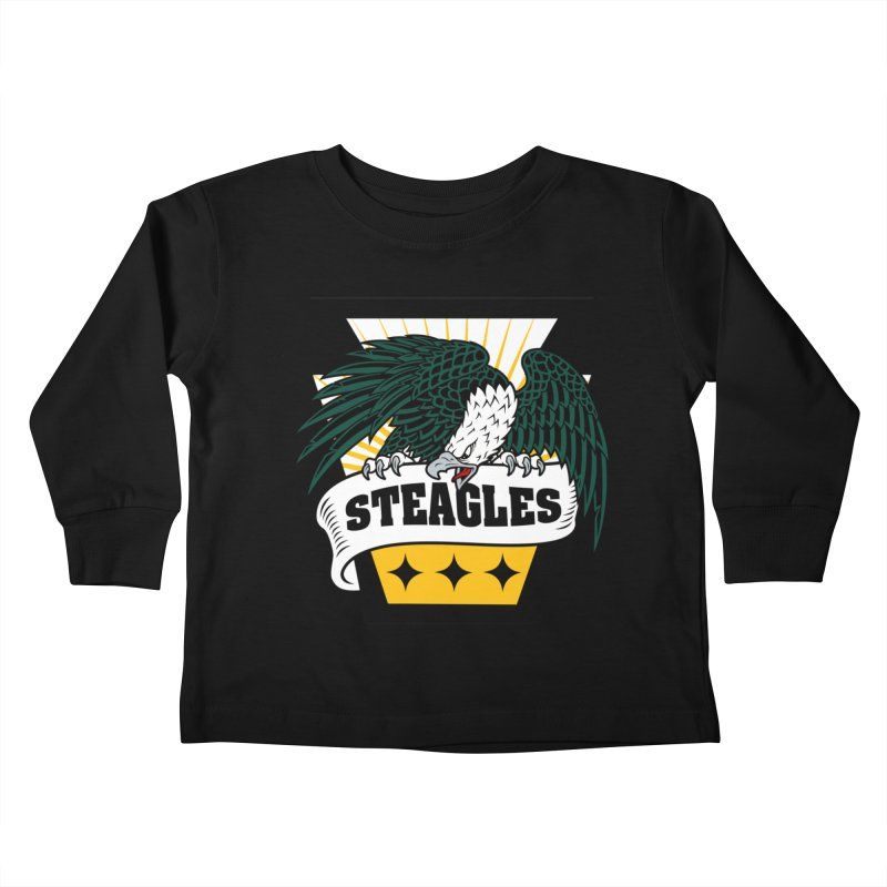 STEAGLES Kids Toddler Longsleeve T-Shirt by The One Designer MERCH