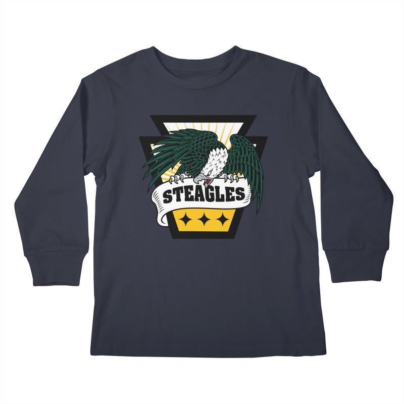STEAGLES Kids Longsleeve T-Shirt by The One Designer MERCH