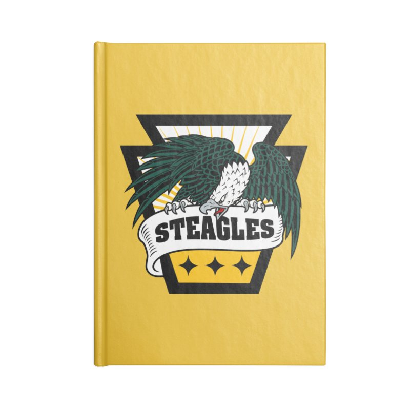STEAGLES Accessories Notebook by The One Designer MERCH