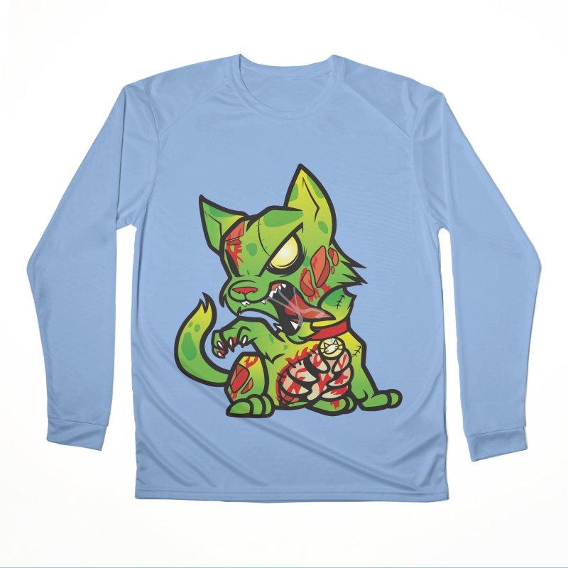 Zombie Cat Men's Longsleeve T-Shirt by The One Designer MERCH
