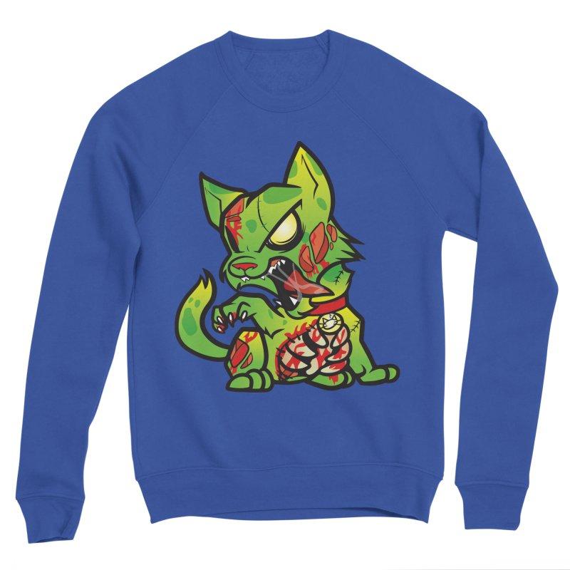 Zombie Cat Men's Sweatshirt by The One Designer MERCH