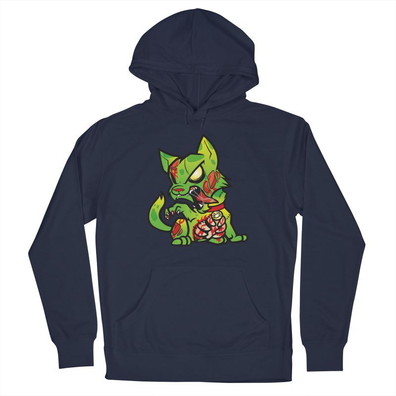 Zombie Cat Men's Pullover Hoody by The One Designer MERCH