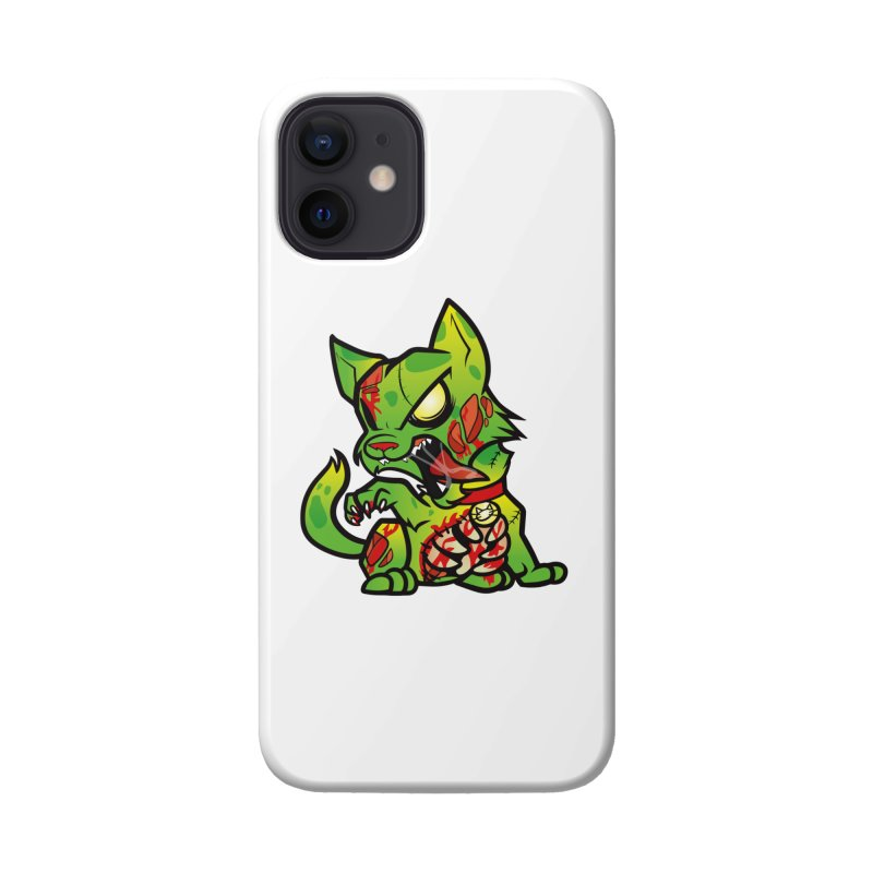 Zombie Cat Accessories Phone Case by The One Designer MERCH