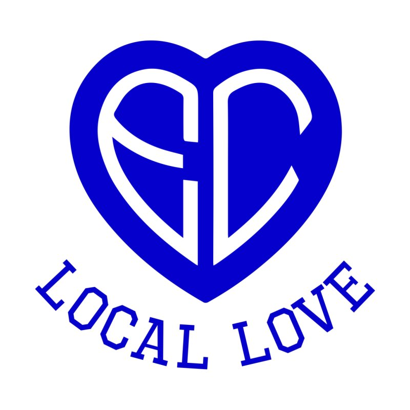 Ellwood City Local Love Men's V-Neck by The One Designer MERCH