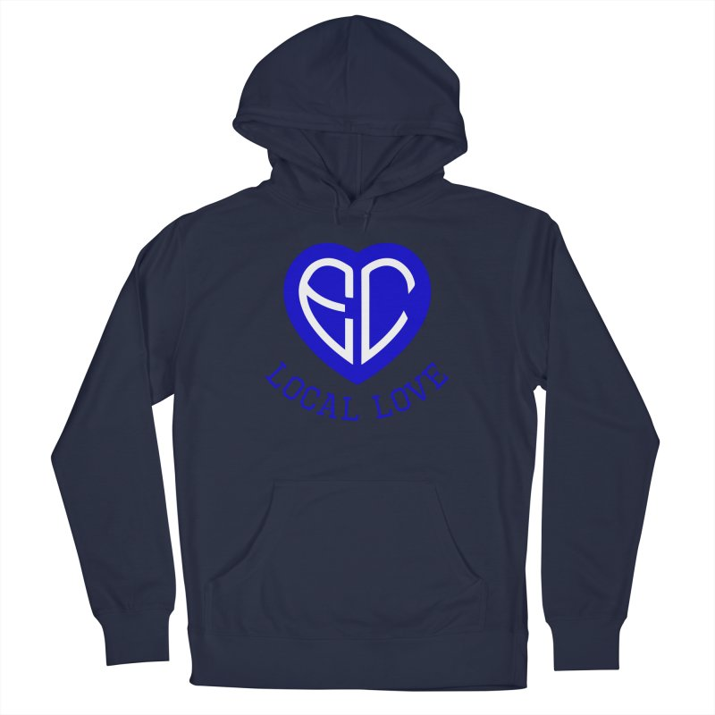 Ellwood City Local Love Men's Pullover Hoody by The One Designer MERCH
