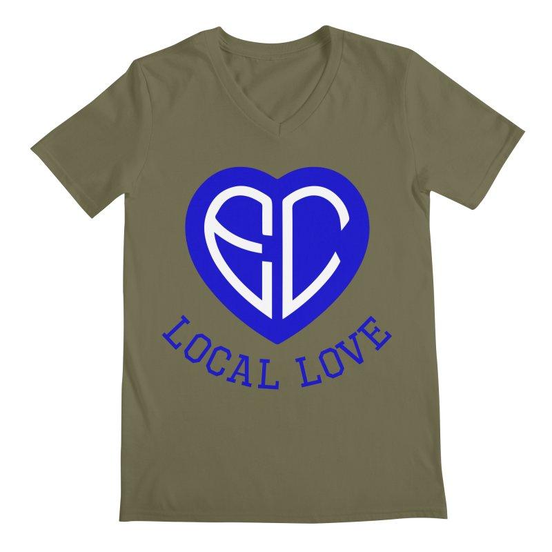 Ellwood City Local Love Men's V-Neck by The One Designer MERCH
