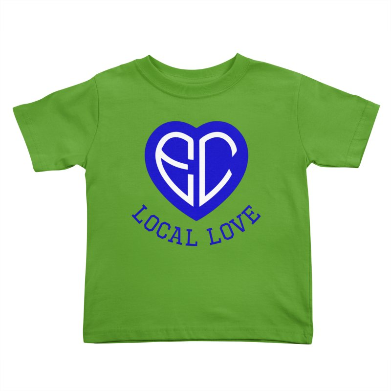 Ellwood City Local Love Kids Toddler T-Shirt by The One Designer MERCH